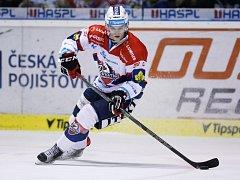 Hokejista Patrik Poulíček přichází z Pardubic do ústeckého Slovanu.