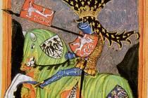 Král Václav I. Jezdecké zpodobnění českého krále z rodu Přemyslovců na iluminaci z Gelnhausenova kodexu, což je jihlavská právní kniha z přelomu 14. a 15. století.