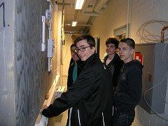 Odbornou praxi sbírají žáci průmyslovky i v zahraničí.