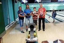V Ústí se uskutečnil bowlingový turnaj handicap.