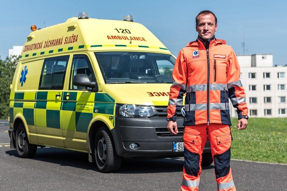 Mluvčí Zdravotnické záchranné služby Ústecké kraje Prokop Voleník