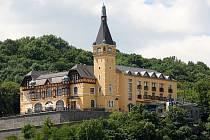 Výletní zámeček Větruše v Ústí nad Labem