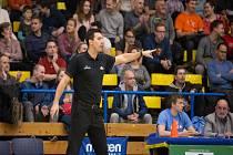 Trenér ústeckých basketbalistů Antonín Pištěcký.