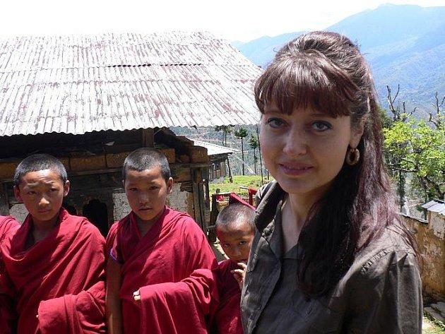 PAVLA GOMBA v Bhútánu.