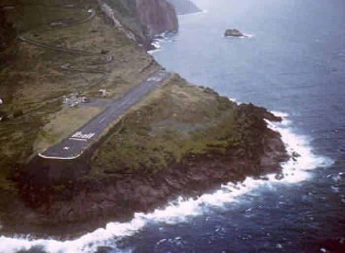 Letiště  JUANCHO E. YRAUSQUIN, Saba, Nizozemské Antily