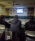 Hokejové semifinále mezi Českou republikou a Ruskem sledují fanoušci i v ústecké hospodě U Sportovce