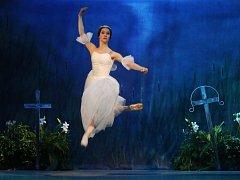 Slavný balet Giselle v nastudování ústeckého divadla.