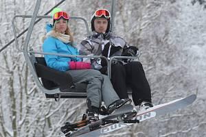 Skiareál Telnice.