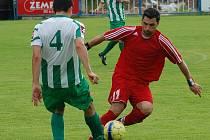Po změně stran se libouchečtí fotbalisté hnali za vyrovnáním