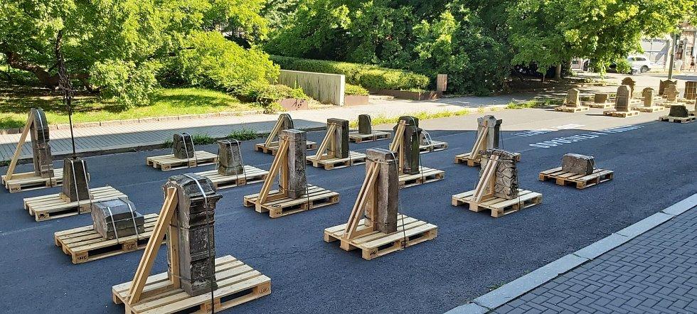Výstava Hřbitov na ulici v Ústí nad Labem