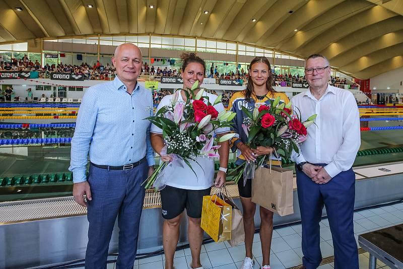 Slavnostní zahájení MČR plavců 2021 v Ústí nad Labem. Foto: Sporty Ústí/Karel Dvořáček