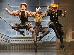 Zkouška nového baletu Zkrocení zlé ženy v Severočeském divadle v Ústí nad Labem.