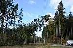 Škody na zařízení energetiků přesáhly 71 milionů korun.
