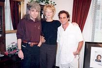 Karel Kopic spolu s Evou Herzigovou a Tico Torresem.
