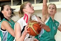 Basketbalistky ústeckého Skřivánku vkročily do vyřazovací fáze druholigové soutěže pravou nohou.