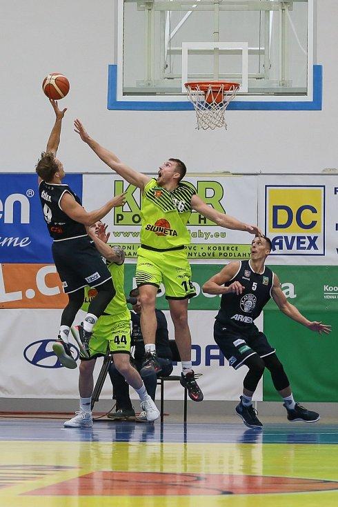 Basketbalový zápas Ústí a Děčín