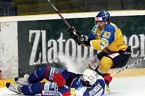Série ústeckých hokejistů na ledě Vrchlabí skončila.