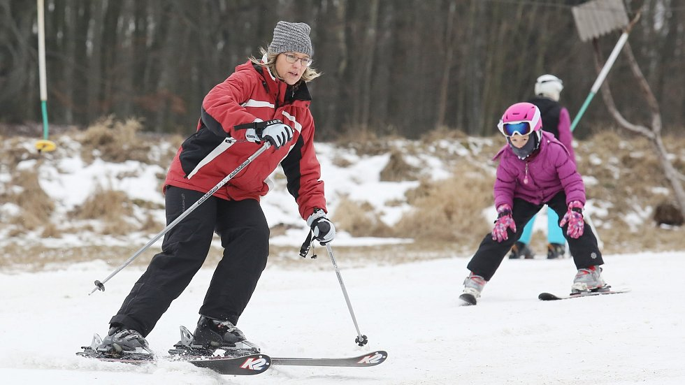 Lyžaři si v Malečově opět mohou užívat lyžování dosyta.