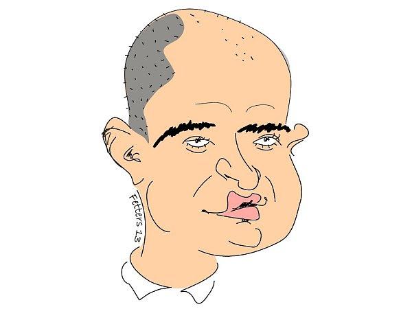 Karikatura: Štěpán Ryska.