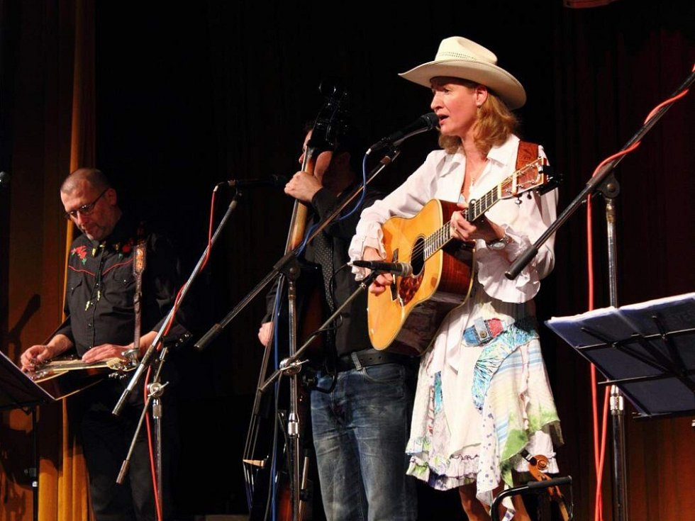 Bluegrassová skupina Blue Eyes z Ústí nad Labem.