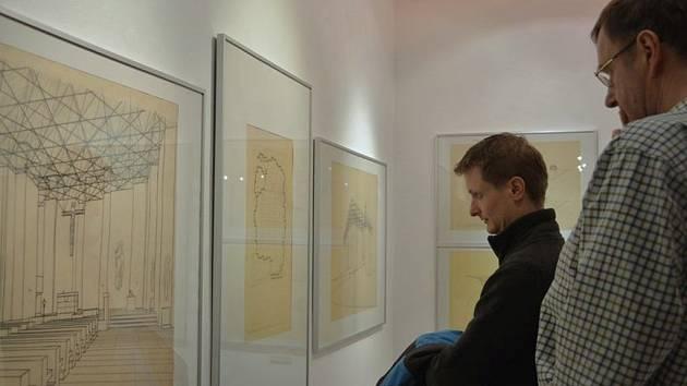 Z vernisáže výstavy, která se uskutečnila 29. ledna.