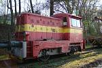 Lokomotivy a hnací vozidla mají svá jména - Prasátko.