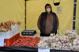 Farmářské trhy. Ilustrační snímek.