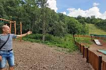 Městský okruh by zasáhl také do dětského hřiště. Ilustrační foto.