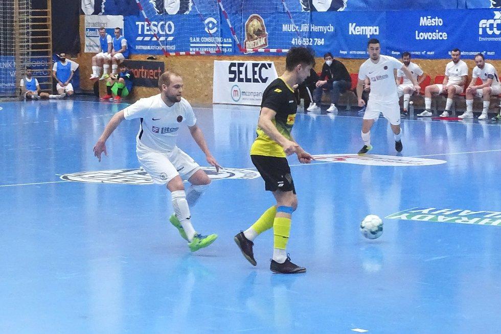 Rapid Ústí nad Labem – FTZS Liberec, 1. FUTSAL liga 2020/2021