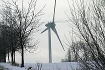 Větrná elektrárna v Petrovicích