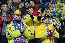 V prvním střetnutí čtvrtfinálové série  play off prvoligové soutěže změřili síly hokejisté Ústeckých Lvů a celek Vrchlabí.