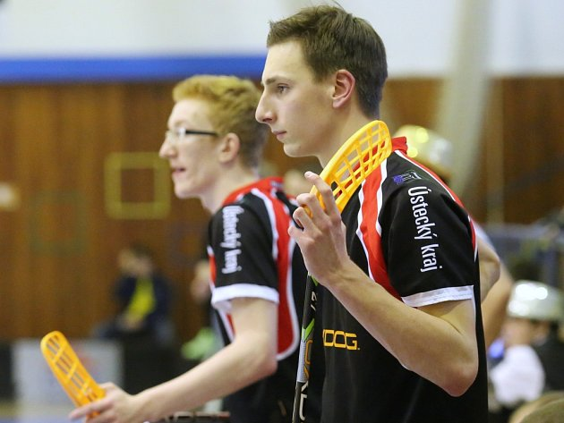 Florbalisté Ústí budou proti Brnu spoléhat na umění Viktora Kopeckého, nejproduktivnějšího hráče celé soutěže.
