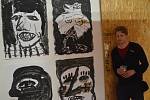 Eva Hofmanová a Přemysl Černý vystavují ve Fillovce