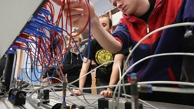 Studenti z Finska jsou na zkušené v Ústí.