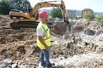 Výstavba Centra přírodovědných a technických oboru v areálu kampusu UJEP.