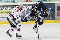 První finále play off 1. hokejové ligy.