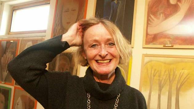 Výtvarnice Eva Vágnerová