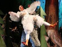 Symfonická pohádka Péťa a vlk s hudbou Sergeje Prokofjeva v podání ústeckého divadla.