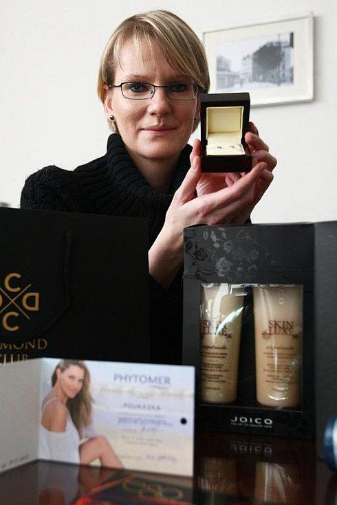 Vítězka hlasování v Egoo proměnách s Deníkem Jana Procházková.