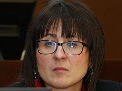 Starostka Neštěmic Yveta Tomková (ANO 2011).