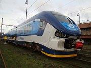Lokomotivy a hnací vozidla mají svá jména - Žralok.