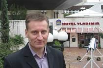 Michal Václavík, ředitel hotelu Vladimir
