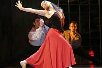 Genrální zkouška baletu Carmen.