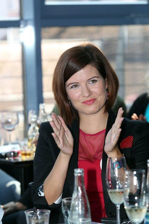 Zpěvačka Zuzana Norisová.