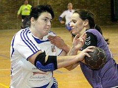 V utkání druhé ligy házenkářek porazil Spartak Ledeč.