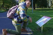 Ústečané mají příležitost sledovat svůj zdravotní stav při procházce parkem.
