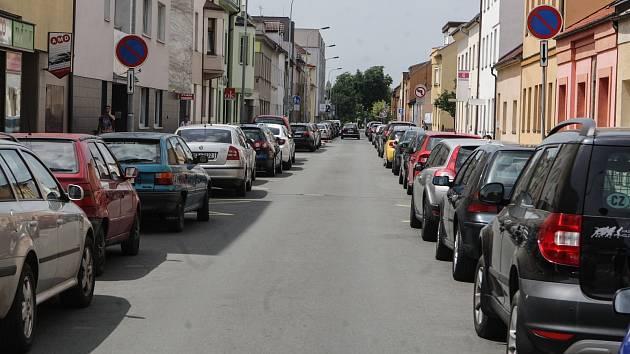 Ilustrační snímek. Parkování.