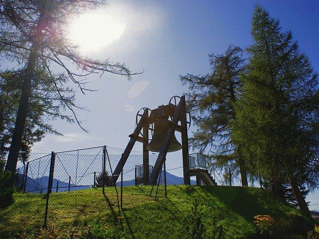Olympijský region Seefeld v Tyrolsku.