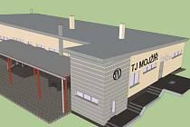Takto by podle projektu mělo vypadat nové zázemí mojžířského klubu.