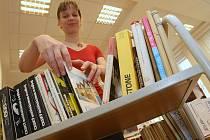 Výměnná burza knih v Ústí nad Labem.